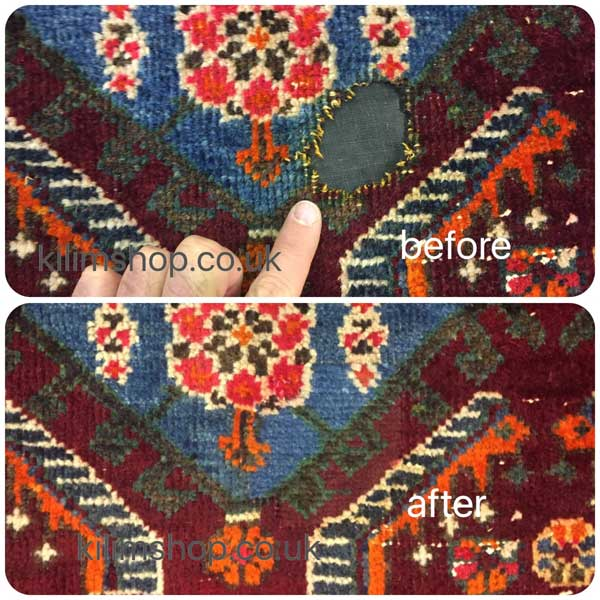 Guaranteed Perfect Repairs From Selection Of Materials To Craftsmanship Our Are Always Going Blend In With Your Rug And Will Be Invisible